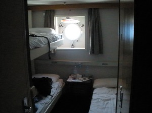 Nossa cabine