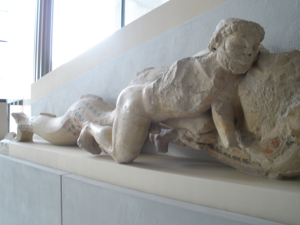 Hércules agarrando a cobra!